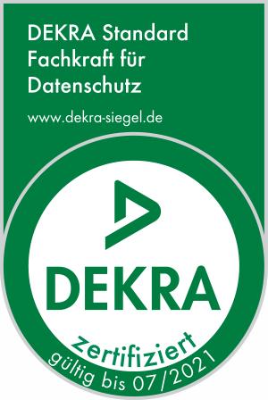 Dekra-Siegel Datenschutz